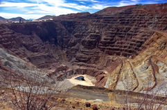 Bisbee Strip Mine, Arizona Royalty Free Stock Images
