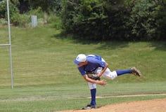 Béisbol de la High School secundaria Foto de archivo