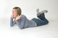 Bisbolhetice adolescente Fotos de Stock