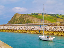 Biscay bay Stock Image