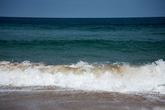 Biscay wave. Royalty Free Stock Image