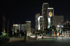 Biscayne Boulevard in Miami Royalty Free Stock Image