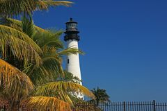 Biscayne Lighthouse Royalty Free Stock Photos