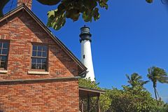 Biscayne Lighthouse Royalty Free Stock Photo