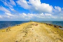 Biscayne National Park. Beautiful Biscayne National Park vista from Black Creek Trail stock photos