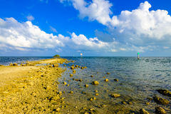 Biscayne National Park. Beautiful Biscayne National Park vista from Black Creek Trail royalty free stock photos