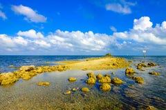 Biscayne nationalpark fotografering för bildbyråer