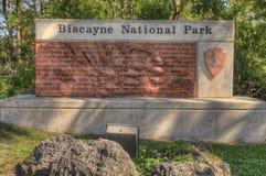 Biscayne park narodowy, Południowy Floryda Fotografia Stock