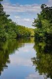Biscayne zatoki laguna Floryda - Biscayne park narodowy - Obrazy Royalty Free