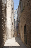 Bisceglie (Apulia, Italy) - Old street Royalty Free Stock Photos