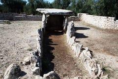 Bisceglie dolmen Stock Image