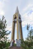 Bischkek, Kirgisistan - 25. August 2016: Monument zur Blockade Lizenzfreie Stockfotos