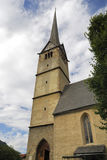 bischofshofen教会 库存照片