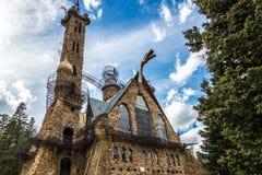 Bischop Castle San Isabel National Forest Colorado Royalty-vrije Stock Foto