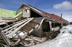 Biscoe Haus Whalers-Schacht Antarktik Lizenzfreie Stockbilder