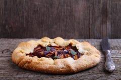 Biscoito com ameixas Foto de Stock Royalty Free
