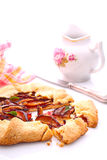 Biscoito com ameixas Fotografia de Stock Royalty Free