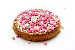 Biscoito com esferas coloridas Imagem de Stock