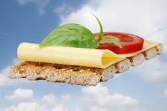 Biscoito com queijo Imagem de Stock