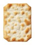 Biscoito da água isolado no fundo branco Imagens de Stock Royalty Free