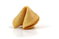 Biscoito de fortuna Fotografia de Stock