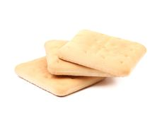 Biscoito de soda do Saltine Fotografia de Stock Royalty Free