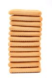 Biscoito de soda do saltine da estaca. Foto de Stock