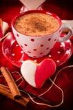 Biscoito do coração Fotos de Stock Royalty Free