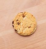 Biscoito dos pedaços de chocolate Foto de Stock Royalty Free