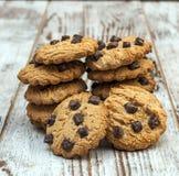 Biscoito dos pedaços de chocolate Imagens de Stock
