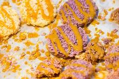 Biscoito friável tailandês do arroz Imagens de Stock Royalty Free
