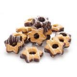 Biscoito na forma da estrela Fotos de Stock Royalty Free