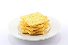Biscoito no fundo branco Imagens de Stock