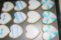 Biscoitos Assorted Imagens de Stock Royalty Free