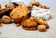 Biscoitos biológicos Fotos de Stock