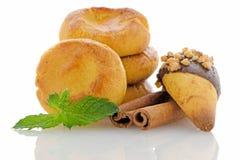 Biscoitos caseiros imagens de stock