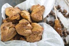 Biscoitos caseiros Foto de Stock