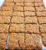 Biscoitos caseiros Fotos de Stock