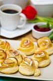Biscoitos caseiros da maçã Imagens de Stock