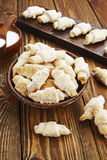 Biscoitos com açúcar fotos de stock