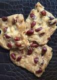 Biscoitos com amendoins Foto de Stock
