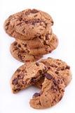 Biscoitos com chokolate Imagens de Stock