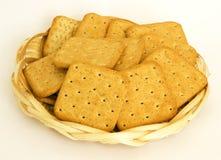 Biscoitos com farelos do centeio Fotografia de Stock Royalty Free