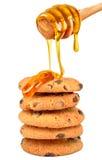 Biscoitos com mel Imagem de Stock Royalty Free