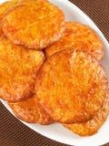 Biscoitos com mel e canela Imagem de Stock Royalty Free