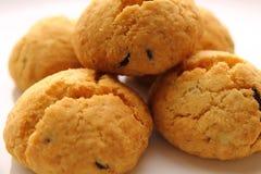 Biscoitos com passas Imagem de Stock Royalty Free
