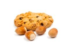 Biscoitos com passas foto de stock royalty free