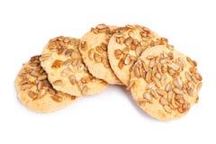 Biscoitos com sementes Fotografia de Stock