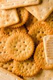 Biscoitos como um fundo Fotos de Stock