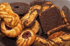 Biscoitos cozidos Fotos de Stock Royalty Free